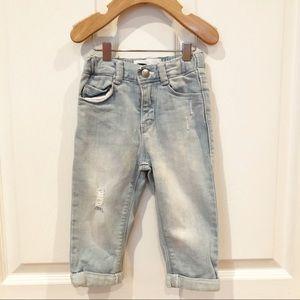 18-24 months Old Navy boyfriend jeans.